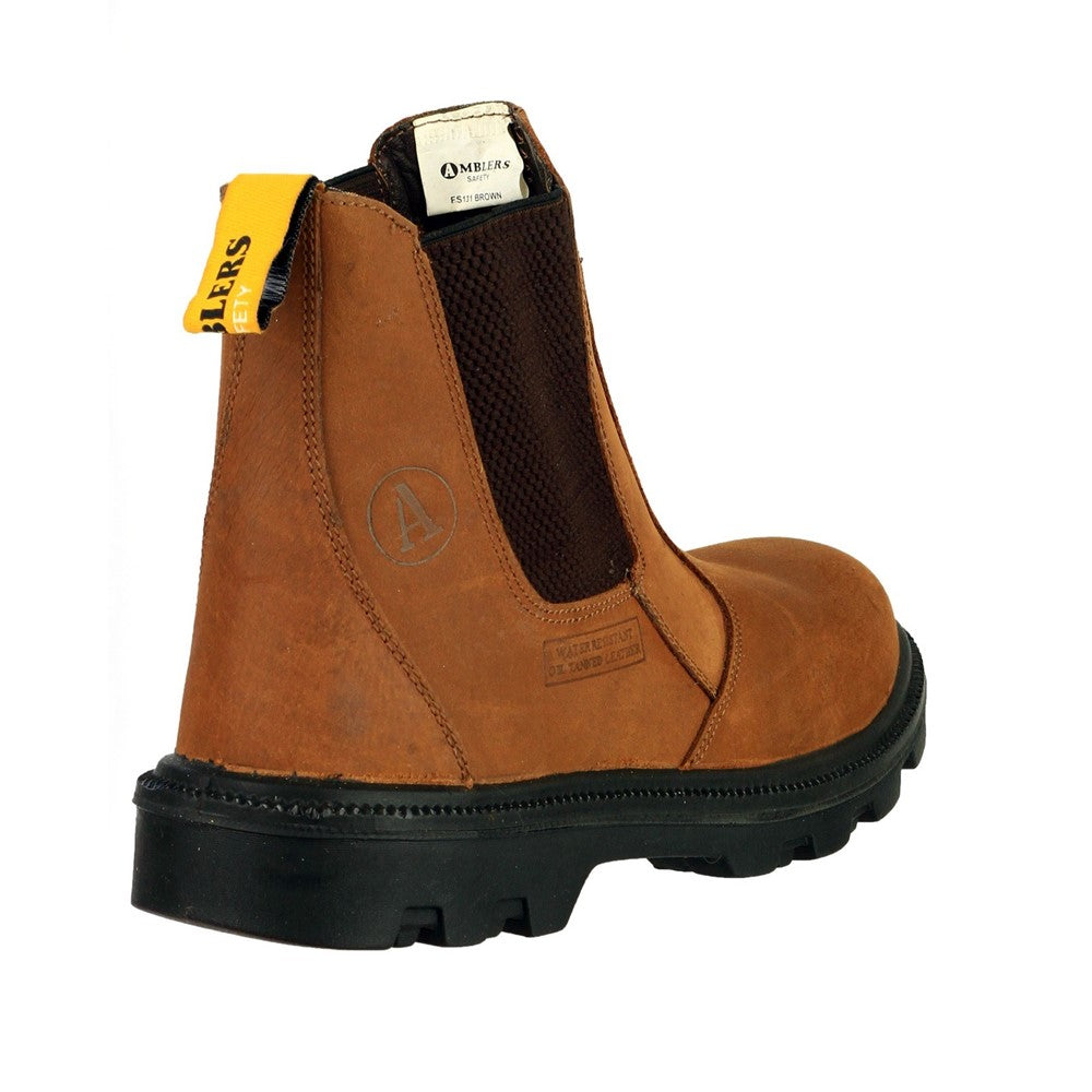 ab08d3e9c57 Amblers Safety FS131 Water Resistant Pull on Safety Dealer Boot