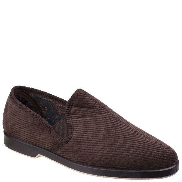 GBS Mens Twin Gusset Slipper