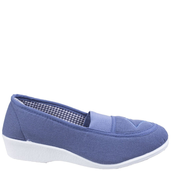 Mirak Malt Slip on Canvas Shoe