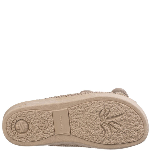 Mirak 213 Touch Fastening Slipper Wide Fit