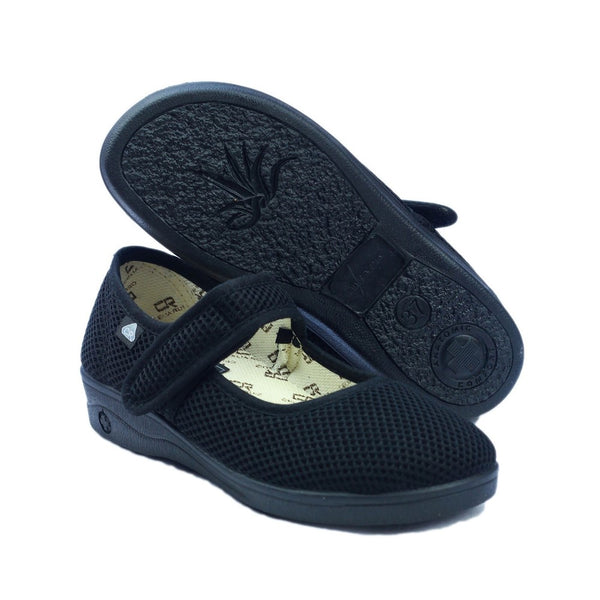 Mirak 204 Touch Fastening Slipper Wide Fit