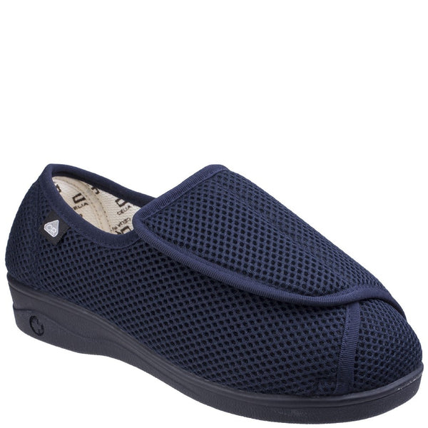 Mirak 300 Velcro Slipper Wide Fit