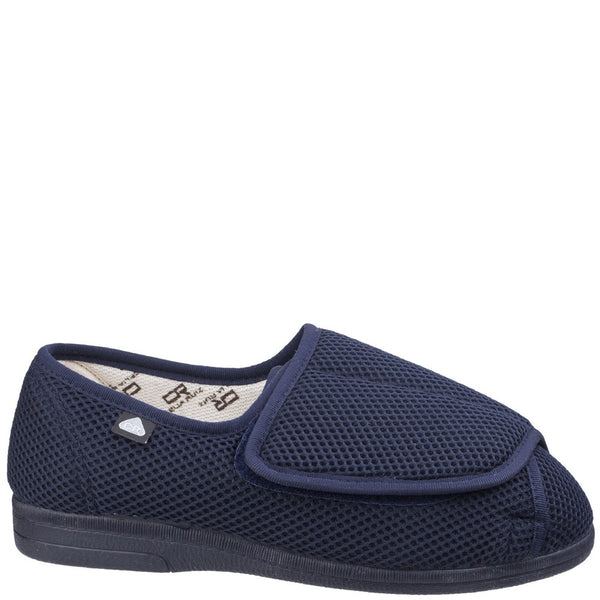 Mirak 300 Touch Fastening Slipper Wide Fit