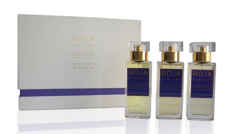 Roja Dove 'Floral Collection' Parfum De Voyage 3x1 Oz / 30 Ml Gift Set