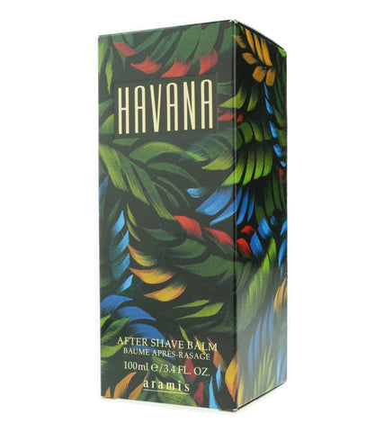 Aramis 'Havana' After Shave Balm 3.4oz/100ml In Box (Original Formula)