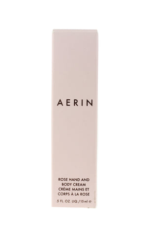 Aerin Rose Hand and Body Cream 0.5Oz/15ml New