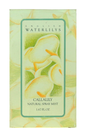 Alyssa Ashley English WaterLilys-Callalily Natural Spray Mist 1.67oz/50ml In Box