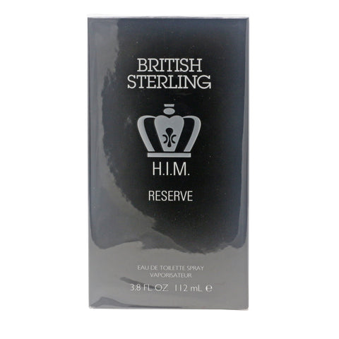 British Sterling Him Reserve Eau De Toilette 112 mL