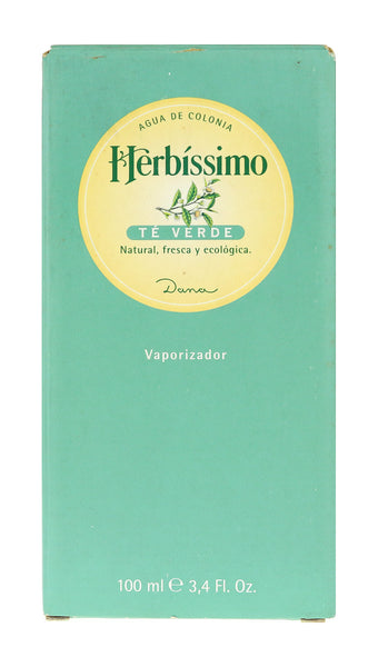 Dana Herbissimo Te Verde Agua De Colonia Spray 3.4Oz/100ml In Box