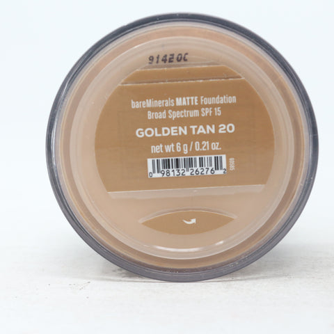 Matte Loose Powder Mineral Foundation Spf 15 6 g
