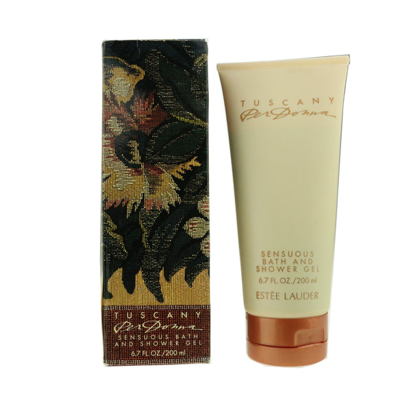 Estee Lauder Tuscany Per Donna Sensuous BathAndShower Gel 6.7oz/200ml New In Box