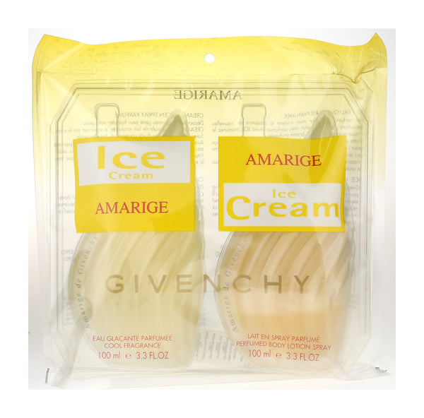 Givenchy Amarige Ice Cream 2 Piece Gift Set Vinatge