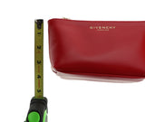 Givenchy Trapezium Red Cosmetic Pouch New