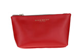 Givenchy Trapezium Red Pouch New Cosmetic Bag