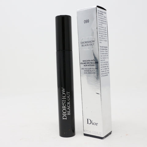 Dior Diorshow Black Out Mascara '#099 Khol Black' 0.33Oz/10ml New In Box