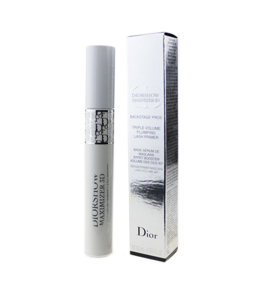 Dior Diorshow Maximizer 3D Triple Volume Plumping Lash Primer 0.33oz New In Box