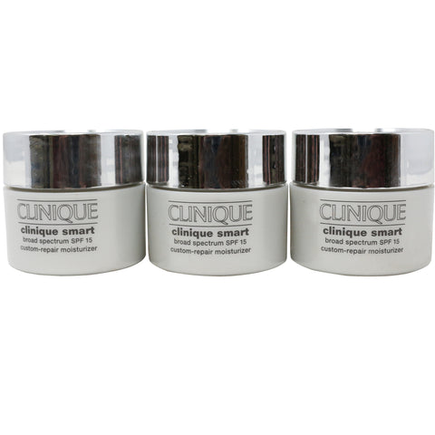 Clinique Smart Custom-Repair Moisturizer Pack Of 3 3 x 15 mL