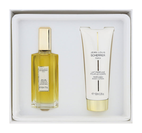 Jean Louis Scherrer 2 Piece Gift Set EDT 1.7Oz & Body Lotion 3.3Oz New