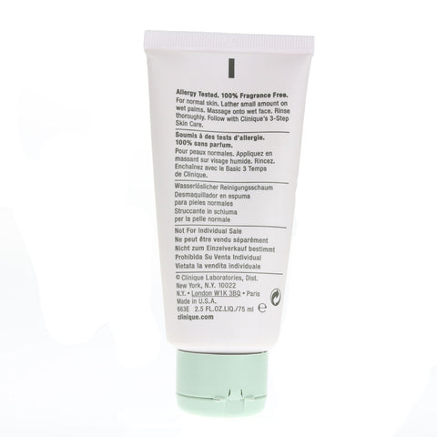 Clinique 'Rinse-Off ' Forming Cleanser 2.5oz/75ml Unboxed