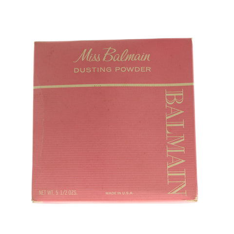 Miss Balmain Dusting Powder 5.5 Oz