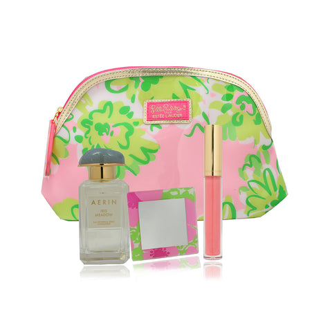 Aerin 'Iris Meadow' Eau De Parfum Gift Set in a Estee Lauder Cosmetic Bag'