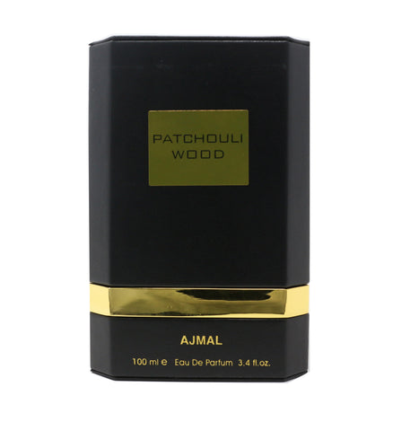 Ajmal Patchouli Wood Eau De Parfum 3.4oz/100ml  New In Box