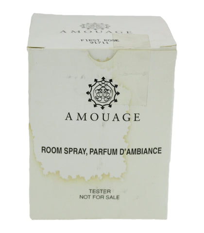 Amouage 'First Rose' Room Spray 3.4oz/100ml In Tester Box ORIGINAL FORMULA