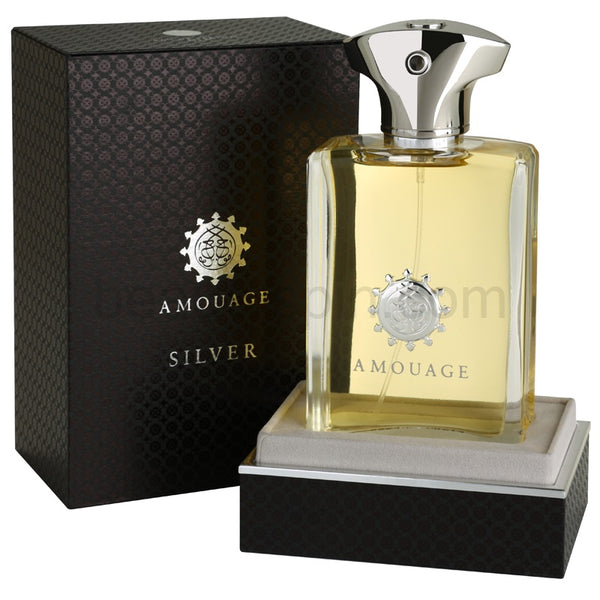 Amouage 'Silver Man' Eau De Parfum 3.4oz/100 ml In Box Not Sealed