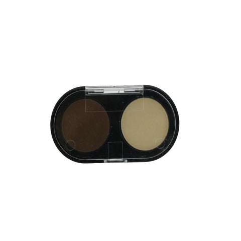 Chestnut/Pale Yellow Concealer Kit Net weight: 0.11 oz
