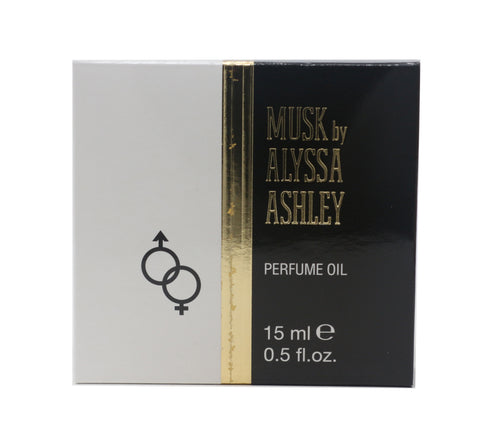 Alyssa Ashley Musk Perfume Oil 0.5oz/15ml  New In Box