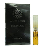 Amouage 'Memoir' Eau De Parfum Spray For Woman 0.05oz Vial (Original Formula)