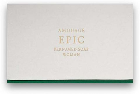 Amouage Epic Women Perfumed Soap 5.3oz/150g New in Box