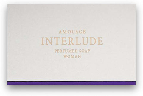 Amouage Interlude Women Perfumed Soap 5.3oz/150g New in Box
