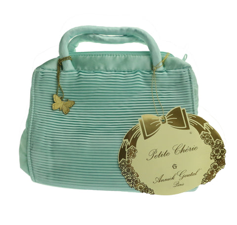 Annick Goutal Petite Cherie Turquoise Butterfly Cosmetic Travel Bag New Cosmetic Travel Bag