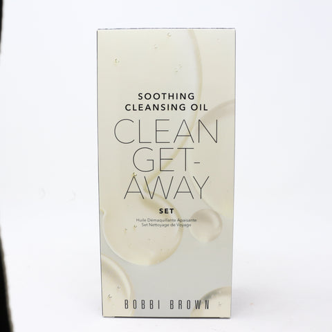 Bobbi Brown Soothing Cleansing Oil Clean Getaway Set  / New With Box