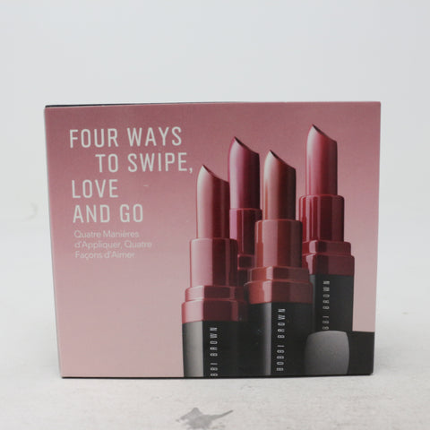 Bobbi Brown Crushed For Day Lip Kit  / New With Box