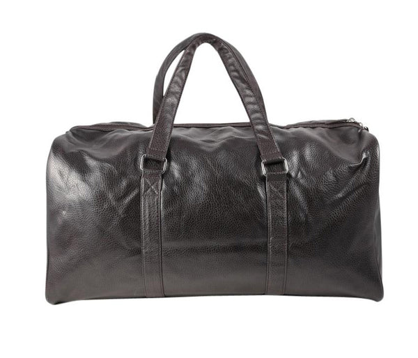Dolce & Gabbana 'The One' Brown Leather Weekender Bag New Tote Bag