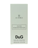 Dolce & Gabbana '11 La Force' Eau De Toilette Spray 3.3oz/100ml Tester New.