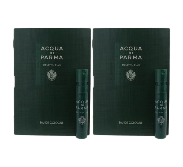 Acqua Di Parma 'Colonia Club' Eau De Cologne 0.04oz Vial On Card (Pack OF 2)