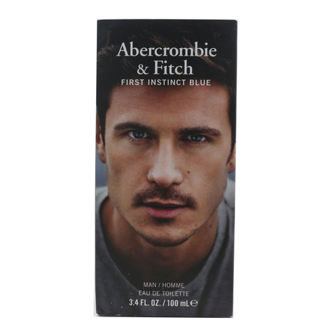 Abercrombie & Fitch First Instinct Blue Eau De Toilette 3.4oz/100ml New In Box