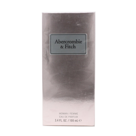 Abercrombie & Fitch First Instinct Eau De Parfum Spray 3.4oz/100ml  New In Box