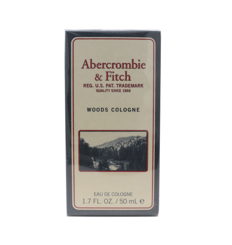 Abercrombie & Fitch Woods Cologne Eau De Cologne 1.7oz/50ml New In Box