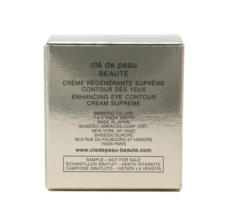 Cle De Peau Beauty Enhancing Eye Contour Cream Supreme 0.06oz/2ml  New In Box
