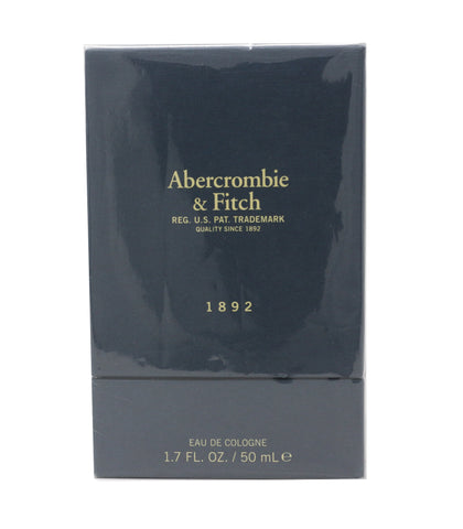 Abercrombie & Fitch 1892 Eau De Cologne 1.7oz/50ml  New In Box