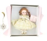 40050 Falling Snowflakes With Lenox Ornament Doll In Box With Collectible Ornament