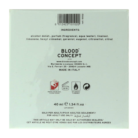 Blood Concept A Parfum Dropper 40ml/1.34Oz New In Box
