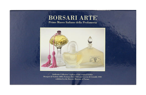 Borsari 1870 Borsari Arte Authenic Collectors Replicas of the Orifginal Bottles
