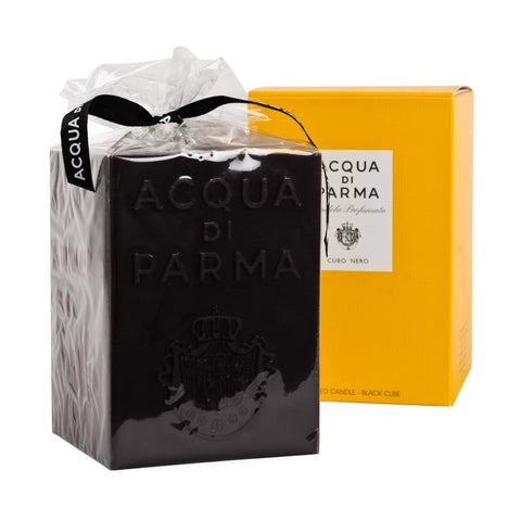 Acqua Di Parma Cubo Club Perfumed Candle Black Cube 34.7 oz / 1000 ml New In Box