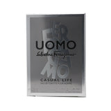 Salvatore Ferragamo Uomo Casual Life Eau De Toilette 0.17oz/5ml  New In Box