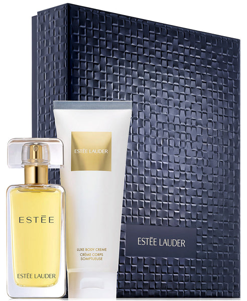 Estee Lauder All-Over Luxuries 2Pc GiftSet Super EDP 1.7Oz & LuxeBodyCreme 3.4Oz